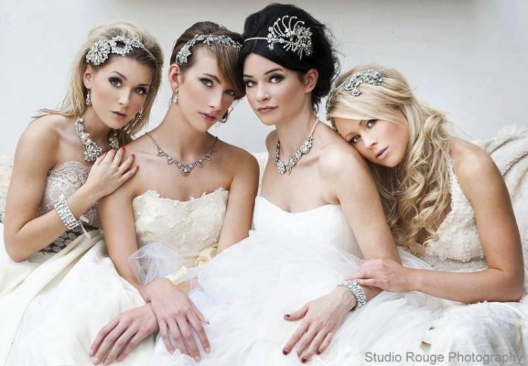 Fashion & Style: Stylish Bridal-Wedding Hairstyle 2014