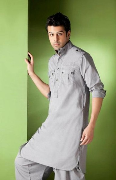 Mens-Wear-New-Latest-Fashion-Trend-Of-Casual-Kurtas-Shalwar-Kamiz-2