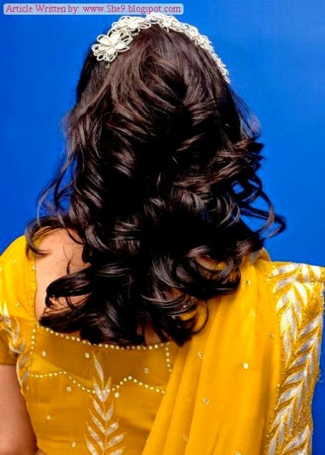 Wedding-Bridal-Hair-Cuts-Style-New-Latest-Fashion-for-Mehndi-Party-Function-8