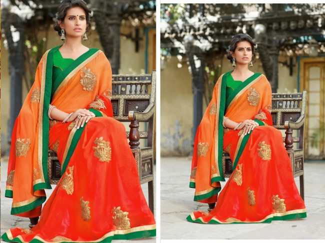 Womens-Girls-Wear-Indian-Festive-Stylish-Classy-Sari-New-Fashion-Blouse-Sarees-