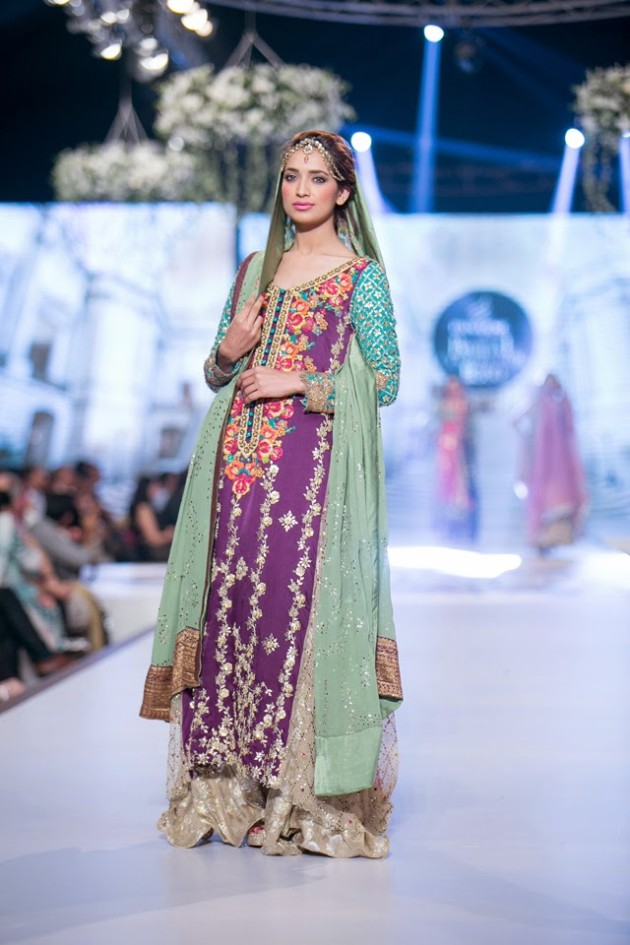 Bridal-Wedding-Wear-Suits-Fashion-Show-at-PBCW-by-Dress-Designer-Teena-Durrani-1