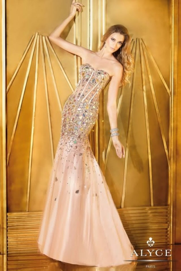 Wedding-Bridal-Evening-Night-Party-Wear-New-Fashion-Gorgeous-Gown-Suits-by-Alyce-1