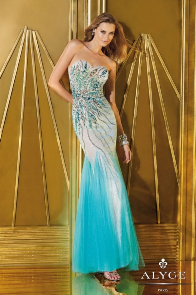 Wedding-Bridal-Evening-Night-Party-Wear-New-Fashion-Gorgeous-Gown-Suits-by-Alyce-12