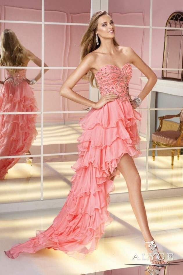Wedding-Bridal-Evening-Night-Party-Wear-New-Fashion-Gorgeous-Gown-Suits-by-Alyce-13