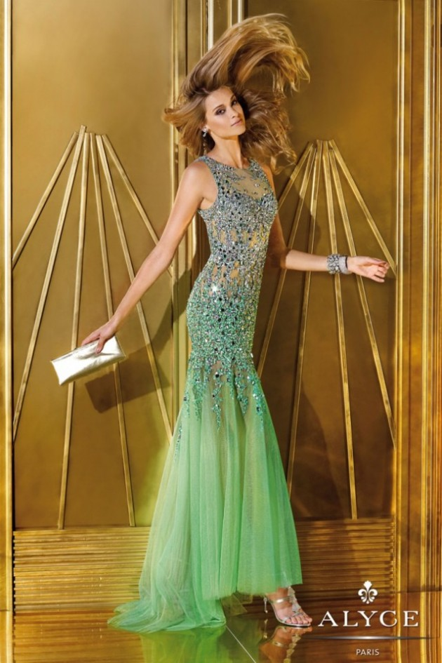 Wedding-Bridal-Evening-Night-Party-Wear-New-Fashion-Gorgeous-Gown-Suits-by-Alyce-16