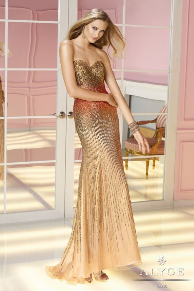 Wedding-Bridal-Evening-Night-Party-Wear-New-Fashion-Gorgeous-Gown-Suits-by-Alyce-18