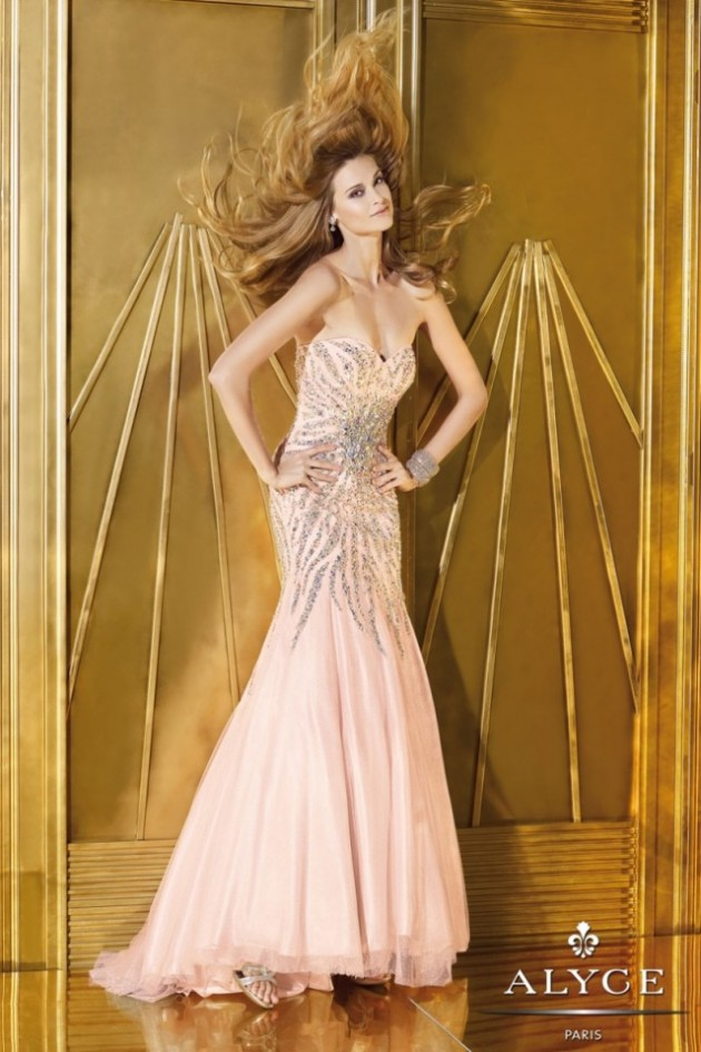Wedding-Bridal-Evening-Night-Party-Wear-New-Fashion-Gorgeous-Gown-Suits-by-Alyce-19