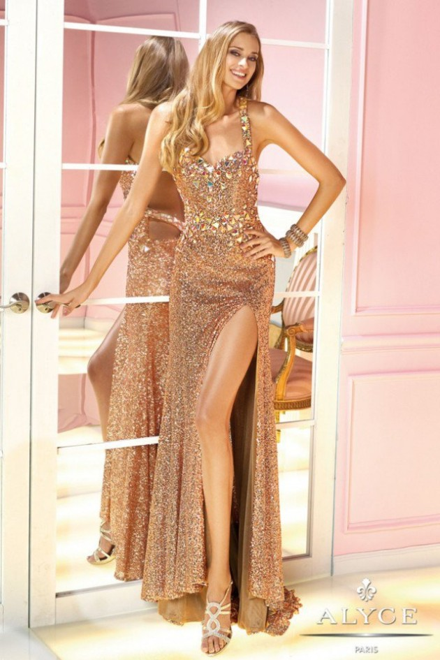 Wedding-Bridal-Evening-Night-Party-Wear-New-Fashion-Gorgeous-Gown-Suits-by-Alyce-2