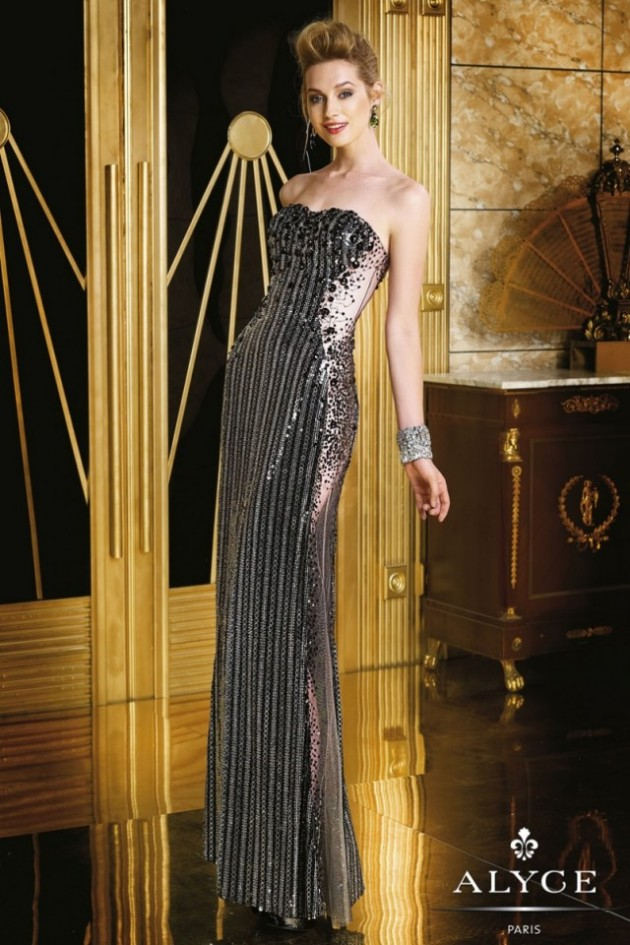 Wedding-Bridal-Evening-Night-Party-Wear-New-Fashion-Gorgeous-Gown-Suits-by-Alyce-29