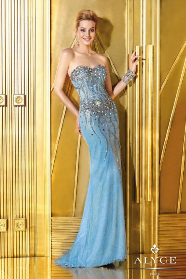 Wedding-Bridal-Evening-Night-Party-Wear-New-Fashion-Gorgeous-Gown-Suits-by-Alyce-3
