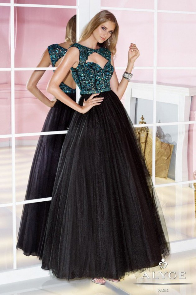 Wedding-Bridal-Evening-Night-Party-Wear-New-Fashion-Gorgeous-Gown-Suits-by-Alyce-7