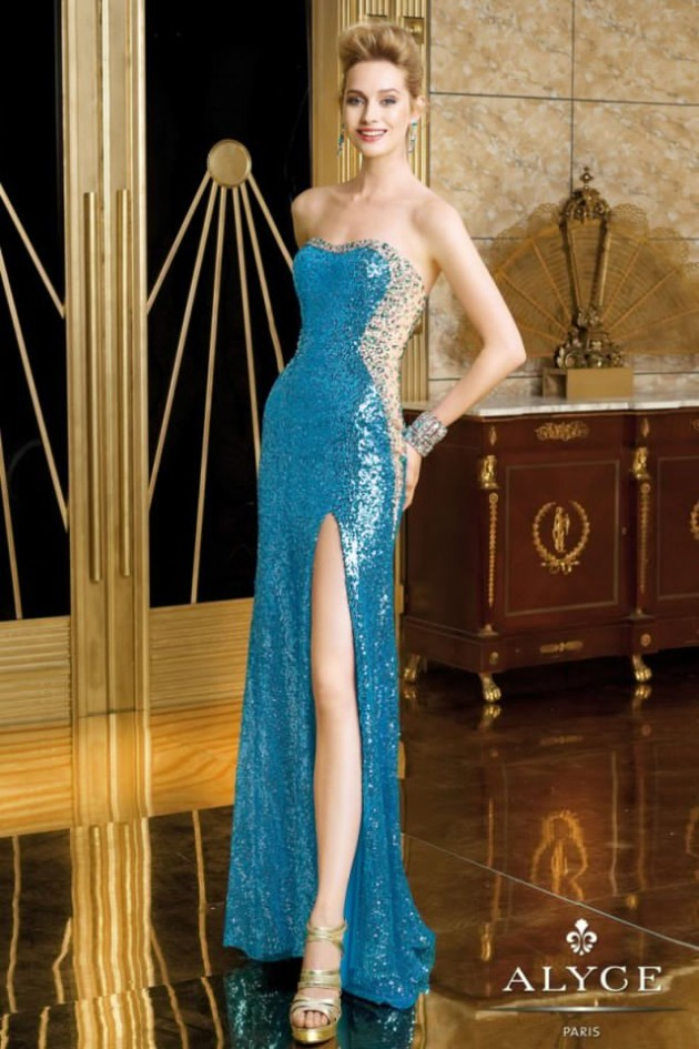 Wedding-Bridal-Evening-Night-Party-Wear-New-Fashion-Gorgeous-Gown-Suits-by-Alyce-9