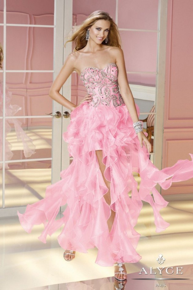 Latest prom wedding bridal night eveningparty wear new for Night dress for wedding night