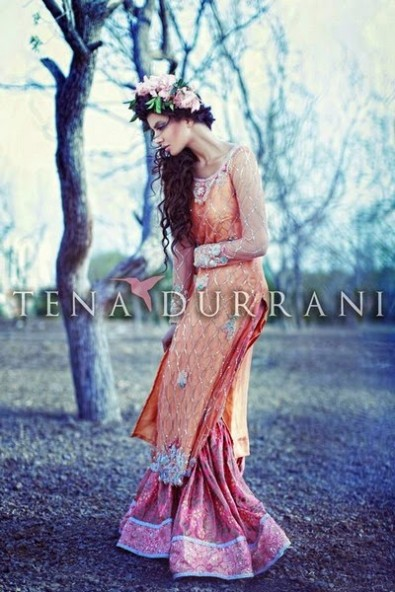 Wedding-Bridal-Wearing-New-Fashion-Suits-Fall-Dress-by-Designer-Tena-Durrani-11