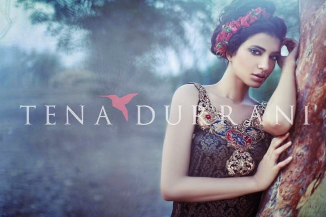 Wedding-Bridal-Wearing-New-Fashion-Suits-Fall-Dress-by-Designer-Tena-Durrani-