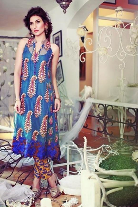 Women-Girls-Wear-Casual-Formal-New-Fashion-Suits-Dress-by-Tena-Durrani-11