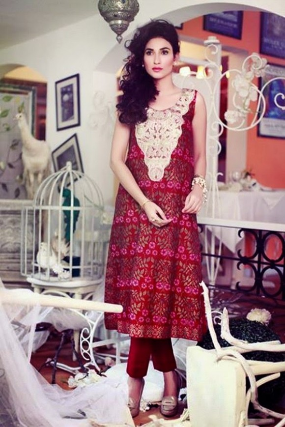 Women-Girls-Wear-Casual-Formal-New-Fashion-Suits-Dress-by-Tena-Durrani-8