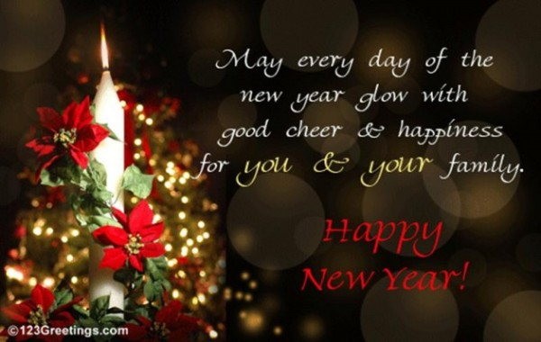 3d animated new year greeting cards design wallpapers