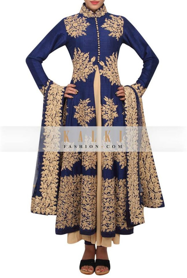 Girls-Wear-Printed-Colored-New-Embellished-Salwar-Kamiz-by-Kalki-Fashion-Suit-7
