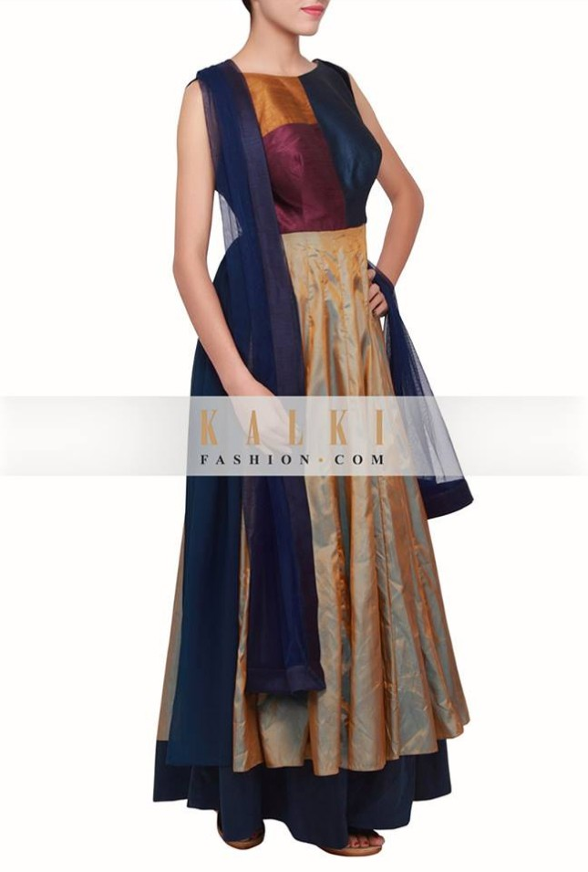 Girls-Wear-Printed-Colored-New-Embellished-Salwar-Kamiz-by-Kalki-Fashion-Suit-8