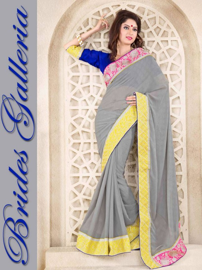 Indian-Bollywood-Fashion-Dress-Designer-Colorful-Saree-Sari-For-Women-Female-1