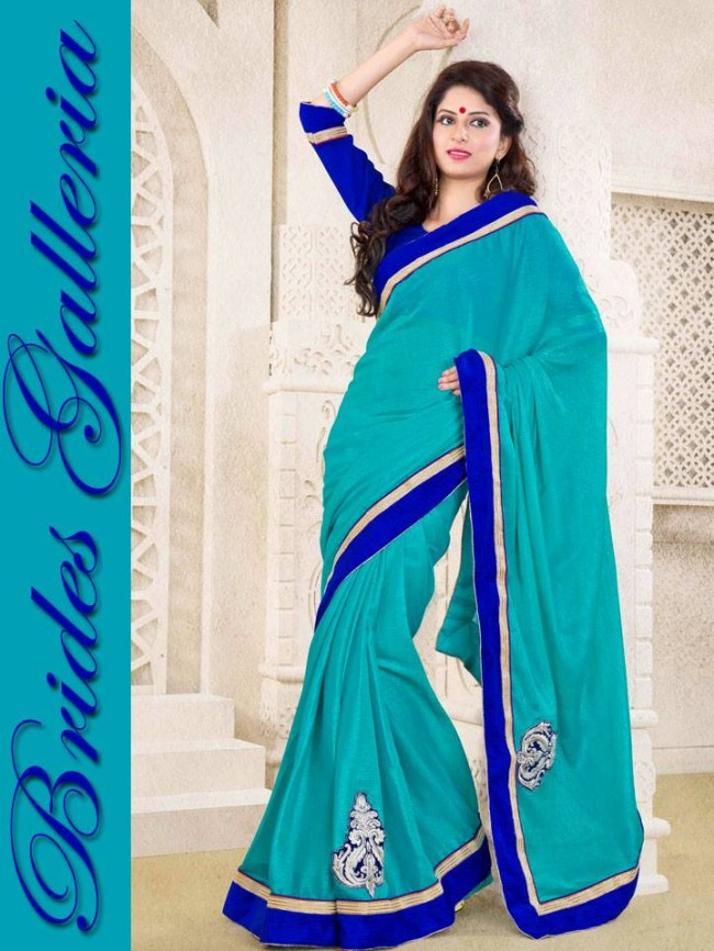 Indian-Bollywood-Fashion-Dress-Designer-Colorful-Saree-Sari-For-Women-Female-10