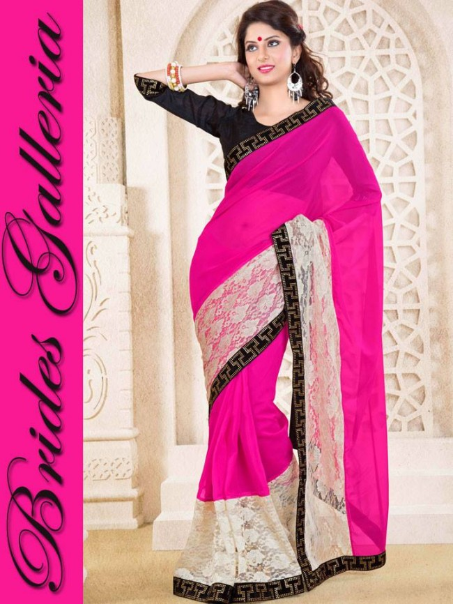 Indian-Bollywood-Fashion-Dress-Designer-Colorful-Saree-Sari-For-Women-Female-2