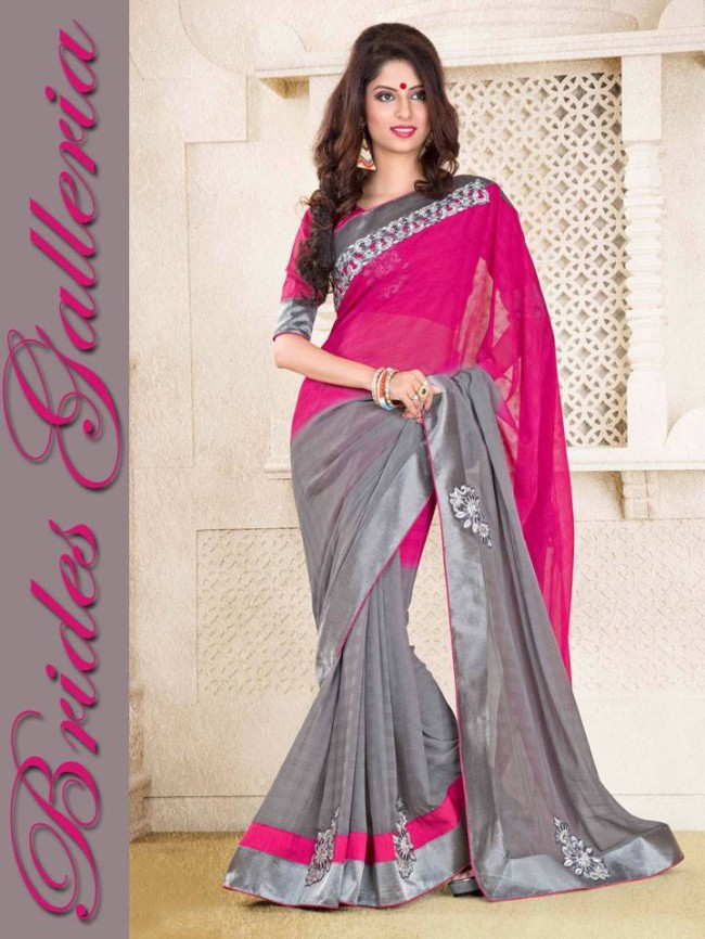 Indian-Bollywood-Fashion-Dress-Designer-Colorful-Saree-Sari-For-Women-Female-7