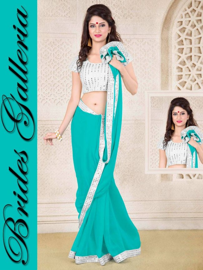 Indian-Bollywood-Fashion-Dress-Designer-Colorful-Saree-Sari-For-Women-Female-8