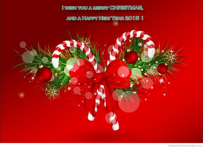 marry christmas and happy new year greeting cards