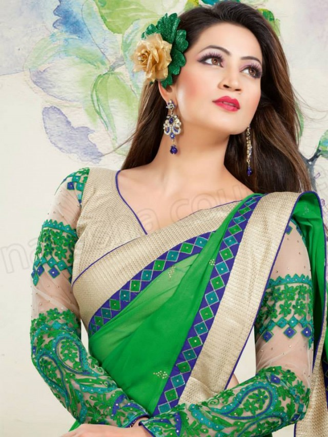 New-Fashion-Best-Embroidered-Cute-Saree-Sari-Blouses-Collection-by-Natasha-Couture-1