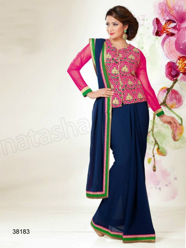 New-Fashion-Best-Embroidered-Cute-Saree-Sari-Blouses-Collection-by-Natasha-Couture-4