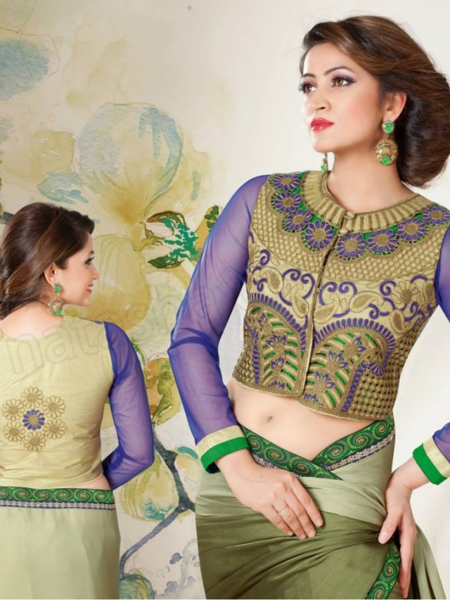 New-Fashion-Best-Embroidered-Cute-Saree-Sari-Blouses-Collection-by-Natasha-Couture-7