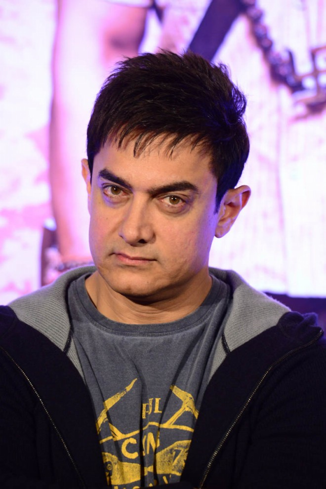 Aamir Khan and Anushka Sharma at PK Movie Promotion in Hyderabad Pictures-Photos-4