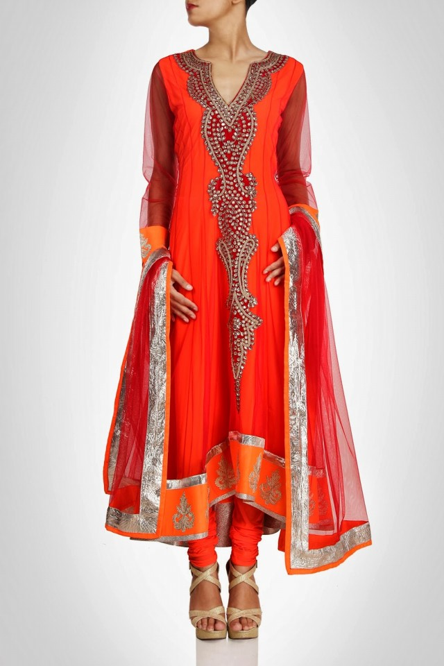 Anarkali-Fancy-Umbrella-Long-Frocks-by-Vandana-Sethi-New-Fashion-Dress-Designer-3