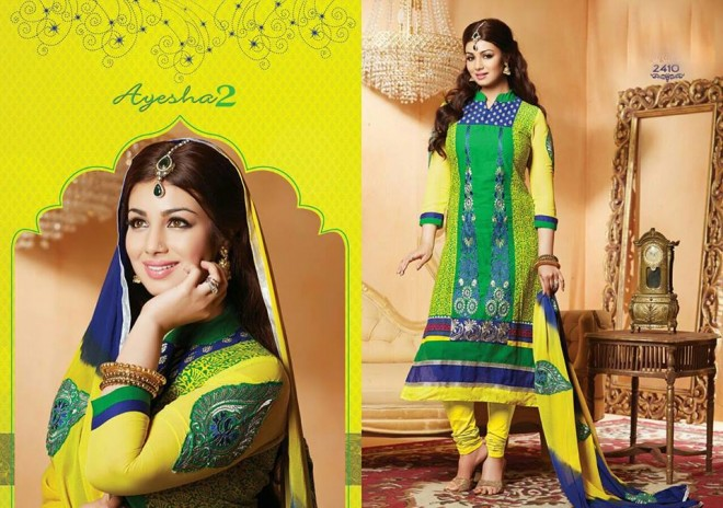 Indian-Bollywood-Famous-Actress-Ayesha-Takia-Photos-in-Salwar-Kamiz-Suit-by-Saheli-Couture-1
