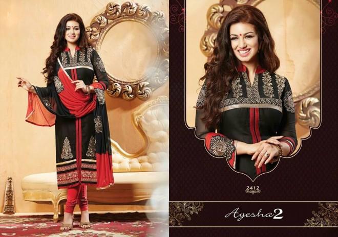 Indian-Bollywood-Famous-Actress-Ayesha-Takia-Photos-in-Salwar-Kamiz-Suit-by-Saheli-Couture-4