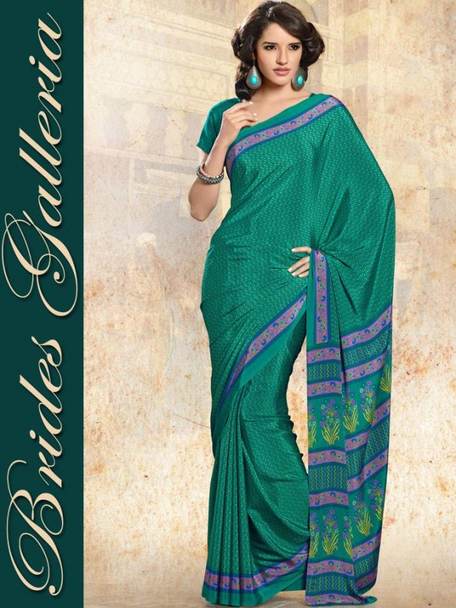 Indian-Bollywood Saree-Sari Designs New Fashion For Girls-Women by Brides Galleria-3