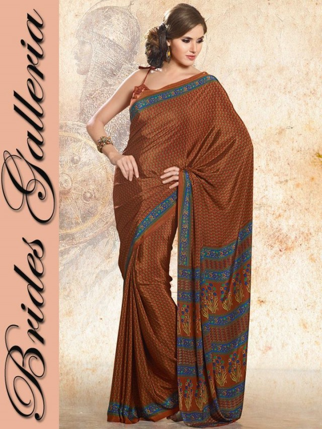 Indian-Bollywood Saree-Sari Designs New Fashion For Girls-Women by Brides Galleria-5