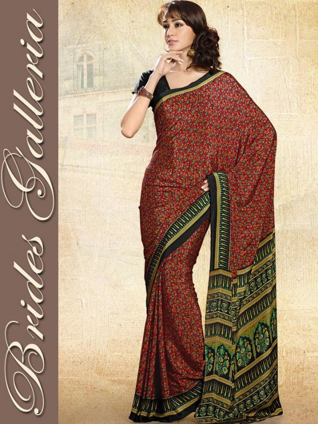 Indian-Bollywood Saree-Sari Designs New Fashion For Girls-Women by Brides Galleria-7