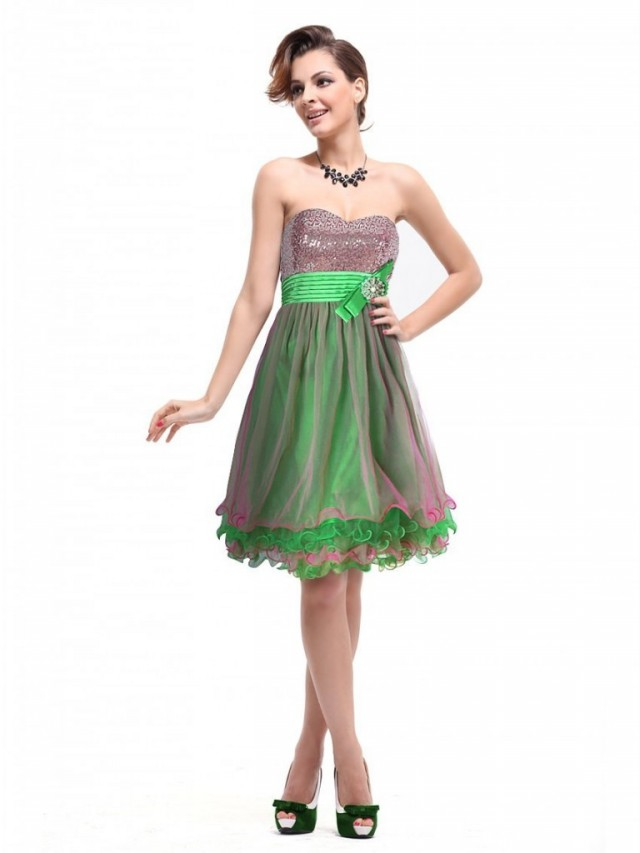 Strapless Western Outfits Beautiful New Fashion Dress for Young Girls-Womens-4