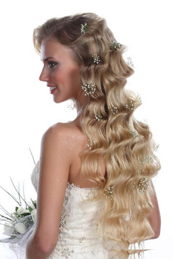 Wedding-Bridal Hairstyle Eastern & Western  New Fashion Hair Cuts for Beautiful-Best Hairs-1
