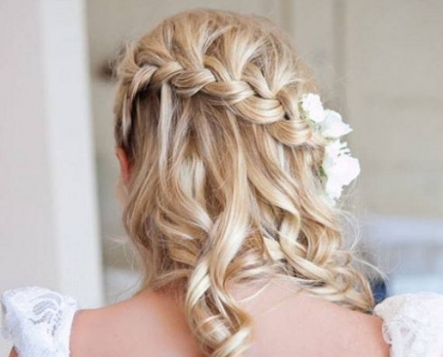Wedding-Bridal Hairstyle Eastern & Western  New Fashion Hair Cuts for Beautiful-Best Hairs-3