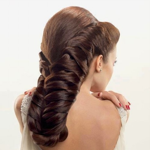 Wedding-Bridal Hairstyle Eastern & Western  New Fashion Hair Cuts for Beautiful-Best Hairs-5