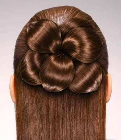 Wedding-Bridal Hairstyle Eastern & Western  New Fashion Hair Cuts for Beautiful-Best Hairs-7