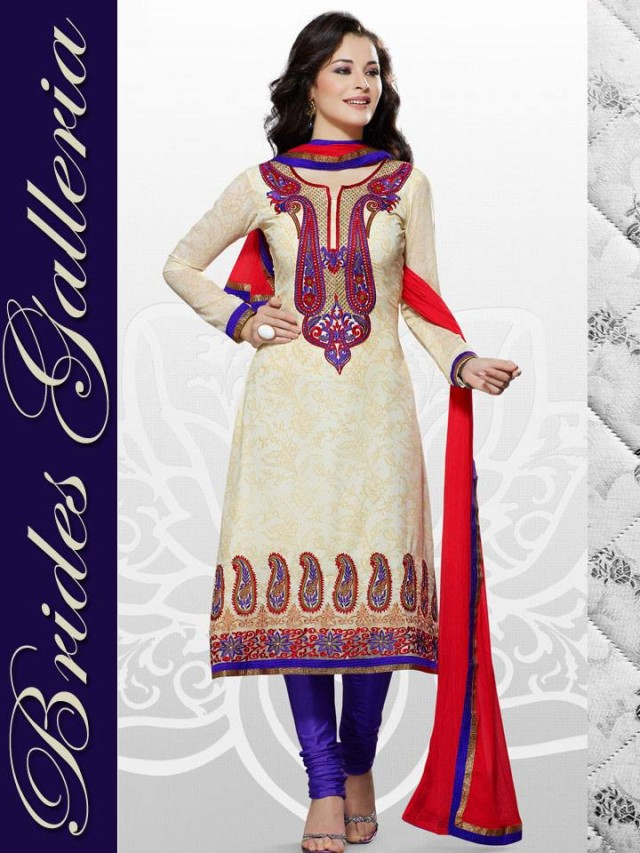 Beautiful Girls Wear New Fashion Dress Anarkali Frocks Suits by Brides Galleria-8