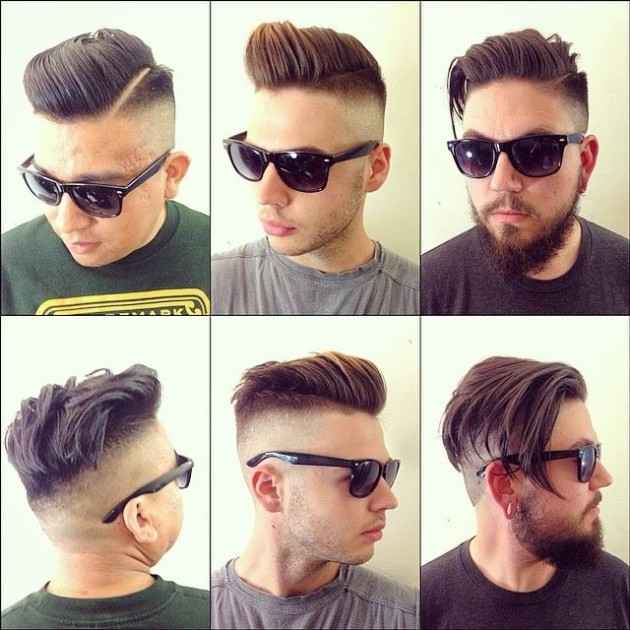 Fashion Glamour World Boys New Handsome Hair Style Look For Mens Stylish Best Long Short Hairs 2015