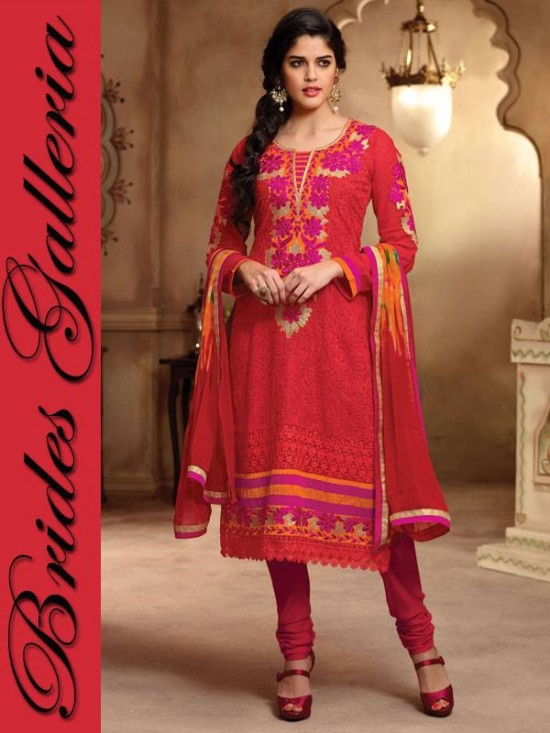 Brides Galleria Beautiful Designer Anarkali Suits Girls-Womes New Fashion Dress-7