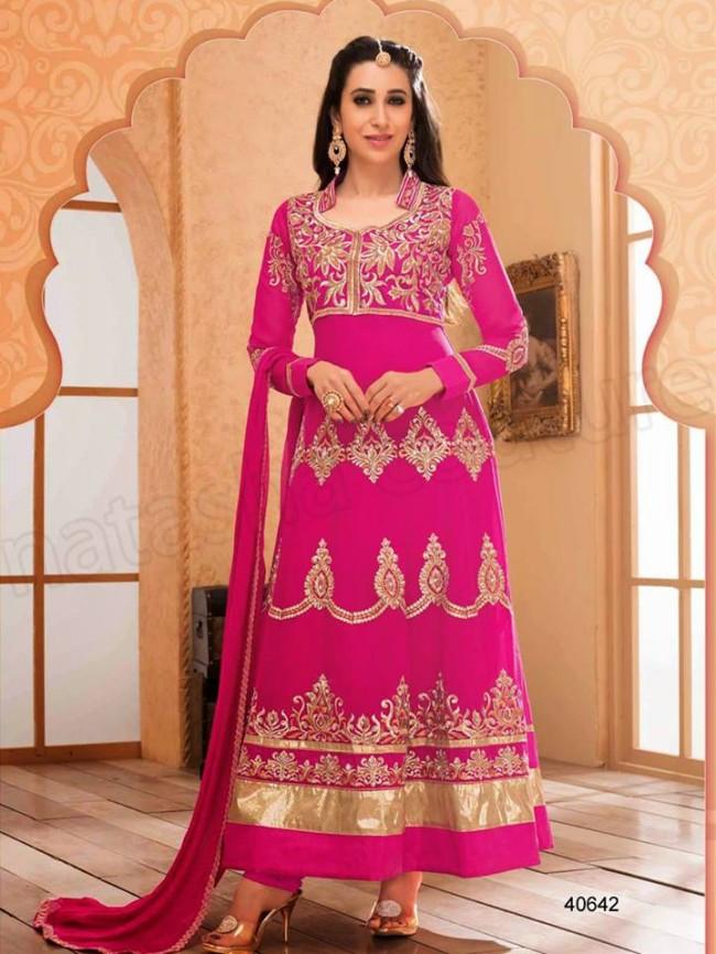 Indian-Bollywood Famous Celebrity Karishma Kapoor Latest Kurtis Dress by Natasha Couture-4