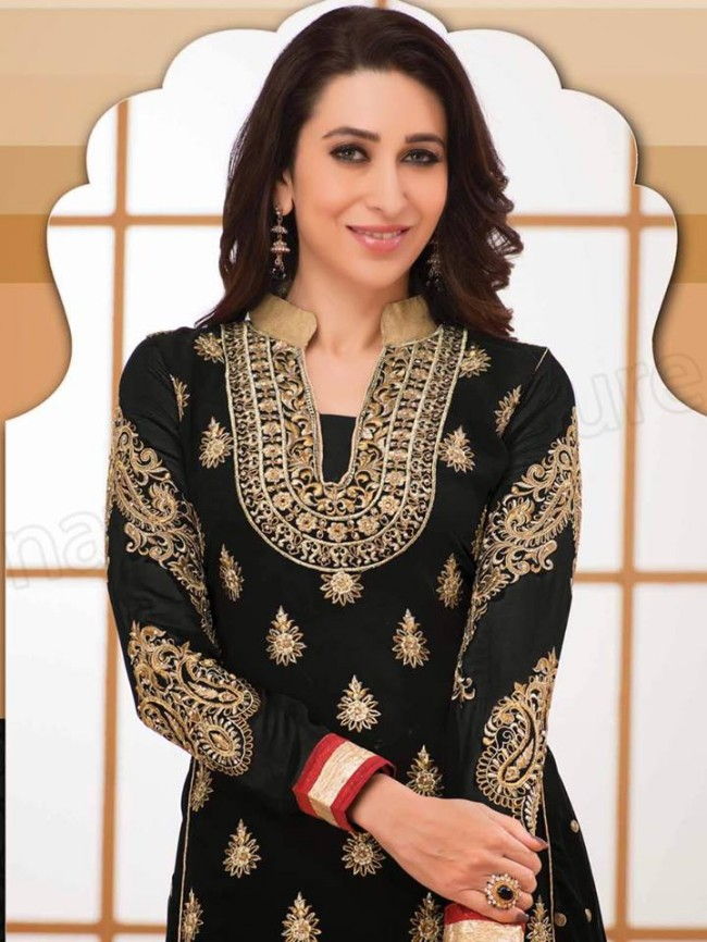 Indian-Bollywood Famous Celebrity Karishma Kapoor Latest Kurtis Dress by Natasha Couture-6